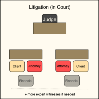 Litigation In Court